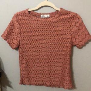 NWOT Hollister Lace Shirt